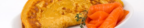 Proteïne omelet zalm Dline