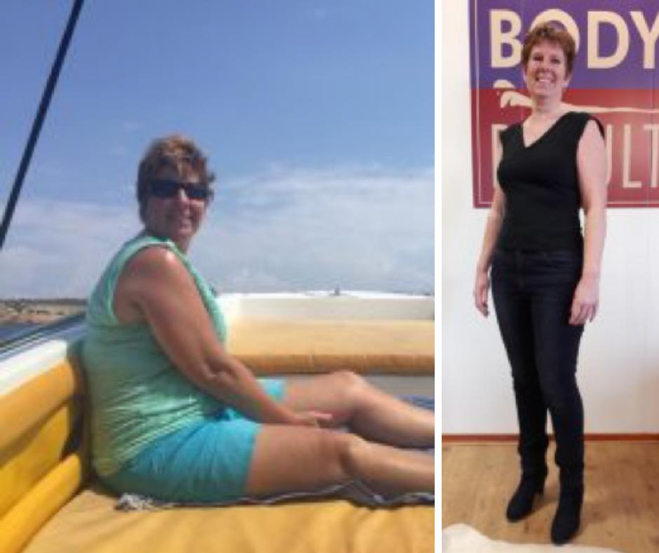 Pauline viel 12 kilo af met het Dline afslankprogramma.